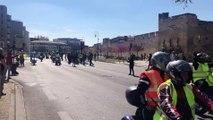 Gilets jaunes à Avignon : les motards en colère rejoignent le cortège