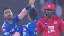 IPL 2019 MI vs KXIP: Dangerous Chris Gayle departs for 40, Pandya brothers strikes | वनइंडिया हिंदी