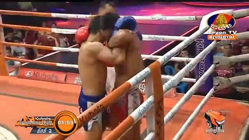 ឈឿន ឆៃដែន Vs ប៊ូវី, Chhoeun Chaiden, Cambodia Vs Thai, Bovy, Khmer Boxing 29 March 2019, International Boxing, Kun Khmer Boxing | Godialy.com