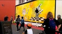 Art urbain : à Mulhouse, rue de la Moselle, un MUR signé Yvan Britschgy