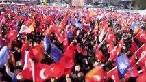 AK Parti'nin Bağcılar Mitingi sona erdi - İSTANBUL