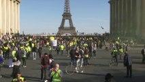 Les cortèges parisiens sont arrivés place du Trocadéro dans le calme