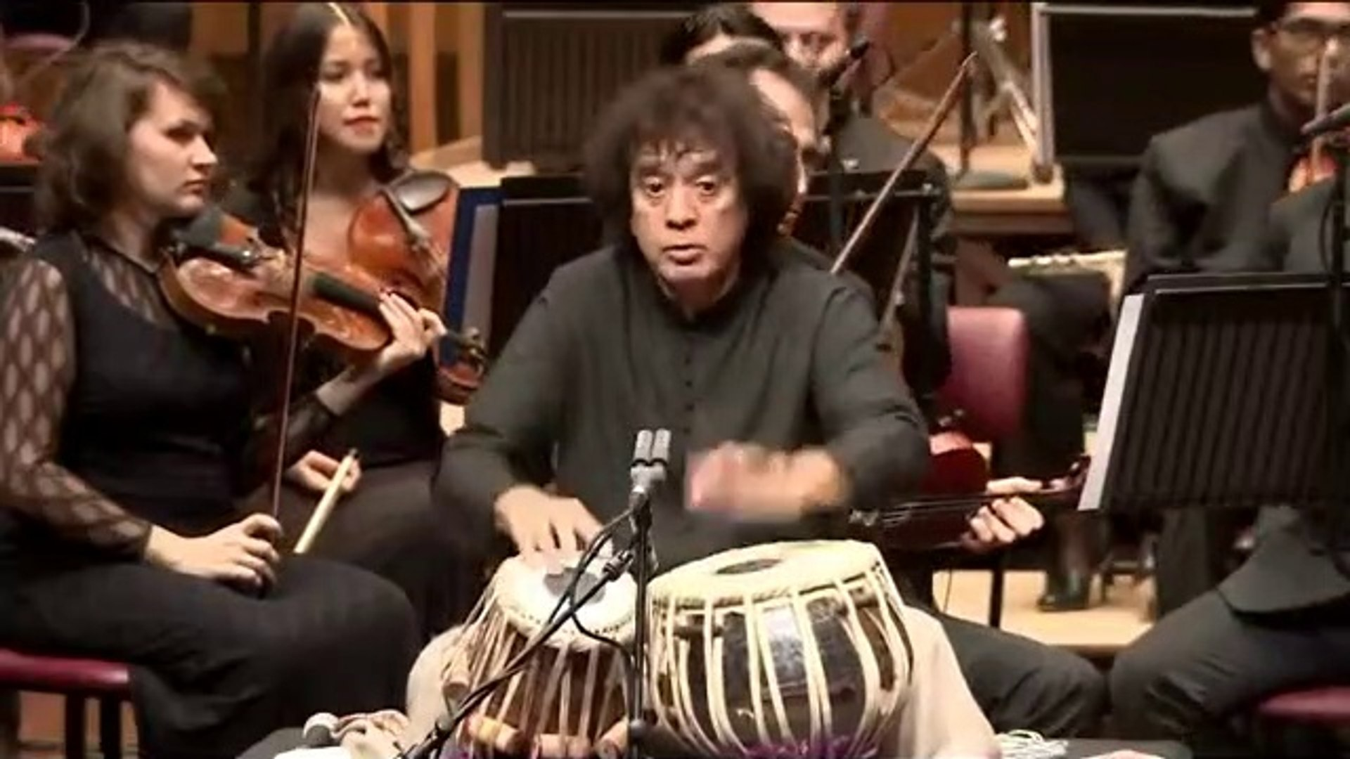 Zakir Hussain Peshkar concerto for tabla and orchestra Symphony Orchestra of India