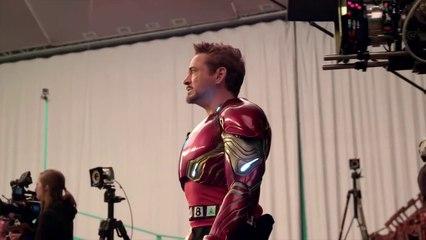 avengers infinity war titan fight featurette blu ray dvd 2018