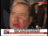 Un puñetazo de lleno en la cara de Berlusconi