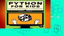 Full E-book  Python for Kids: A Playful Introduction To Programming  Review