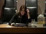 Carla Bruni, ante Naciones Unidas