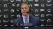 Bruce Cassidy Discusses Bruins' 4-1 Defeat Against Panthers Saturday