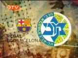 Las mejores imágenes del Barcelona-Maccabi de Tel Aviv