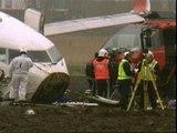 31 heridos siguen graves tras el accidente aéreo en Amsterdam