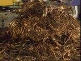 El lucrativo negocio del robo de cables de cobre