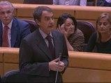 García Escudero sugiere a Zapatero que toma por tontos a los parados