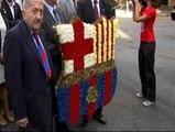 El Barça celebra la Diada Nacional de Catalunya
