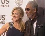 Morgan Freeman presenta 'Invictus'