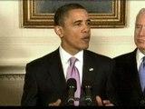 Obama anuncia un plan para poner límite a los bancos y empresas financieras