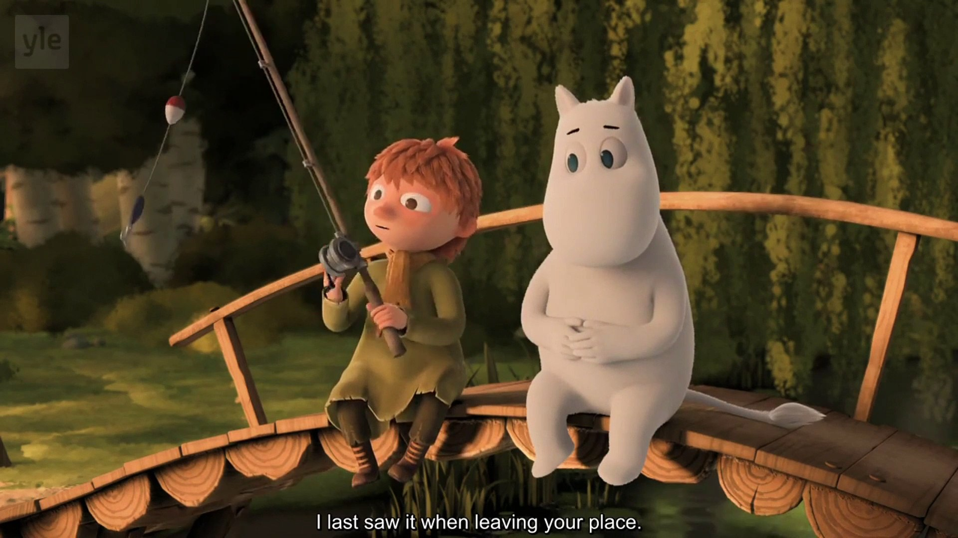 Moomin Snufkin sweet moment Moominvalley 2019