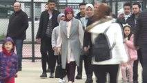 Başkan Mehmet Tahmazoğlu ailesiyle birlikte oyunu kullandı