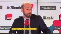 """Stanislas Guérini (LREM) sur le grand débat : """"Je trouve étonnant qu'on puisse le critiquer parce qu'il se met en situation de pouvoir répondre aux questions que se posent les Français"""""""