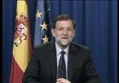 """Rajoy: """"Los soldados españoles tienen el total reconocimiento del Gobierno y de la Nación"""""""