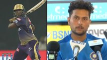 IPL 2019 : Kuldeep Yadav Opens Up On Bowling To Andre Russell || Oneindia Telugu