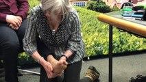 Laure Reimbold massage pieds