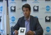 Ramón Gómez lamenta la imagen del brindis con el alcalde de San Sebastián