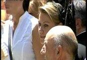 Cospedal asiste al desfile del Corpus de Toledo en su primer acto público como presidenta