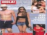 Sara e Iker portada de revista