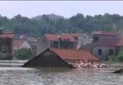 Máxima alerta en China por las lluvias