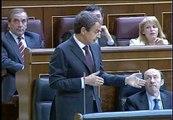 """Zapatero: """"La confianza es un concepto  genérico e indeterminado"""""""