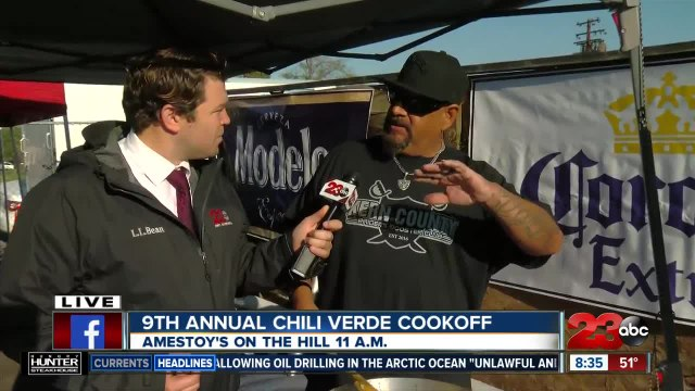 Amestoy's preparing for 9th Annual Chile Verde Cook-Off