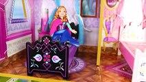 Congelés Jouets Poupées: Elsa & la Princesse Anna de Poupées, Transport & Jeu de Poupée | Surprise des Jouets pour les Enfants | Gertie S. Bresa