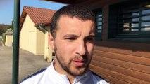 Coupe du Rhône (8ème de finale) – Mohamed TOUATI réagit après l'élimination de l'O. BELLERCOCHE à l'ES GENAS