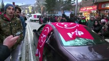 Bayburt'ta MHP uzun bir aradan sonra zaferini kutladı
