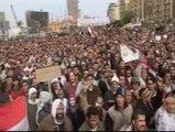 Undécima protesta en Egipto para pedir la salida de Mubarak