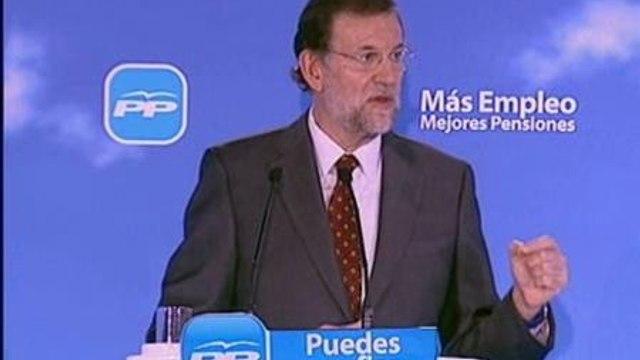 """Rajoy: """"No bastan las buenas intenciones"""""""