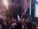 Noche de protestas en Egipto