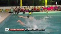 Natation synchronisée : des hommes dans le grand bain