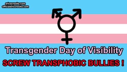 Transgender Day of Visability - Screw Transphobic Bullies