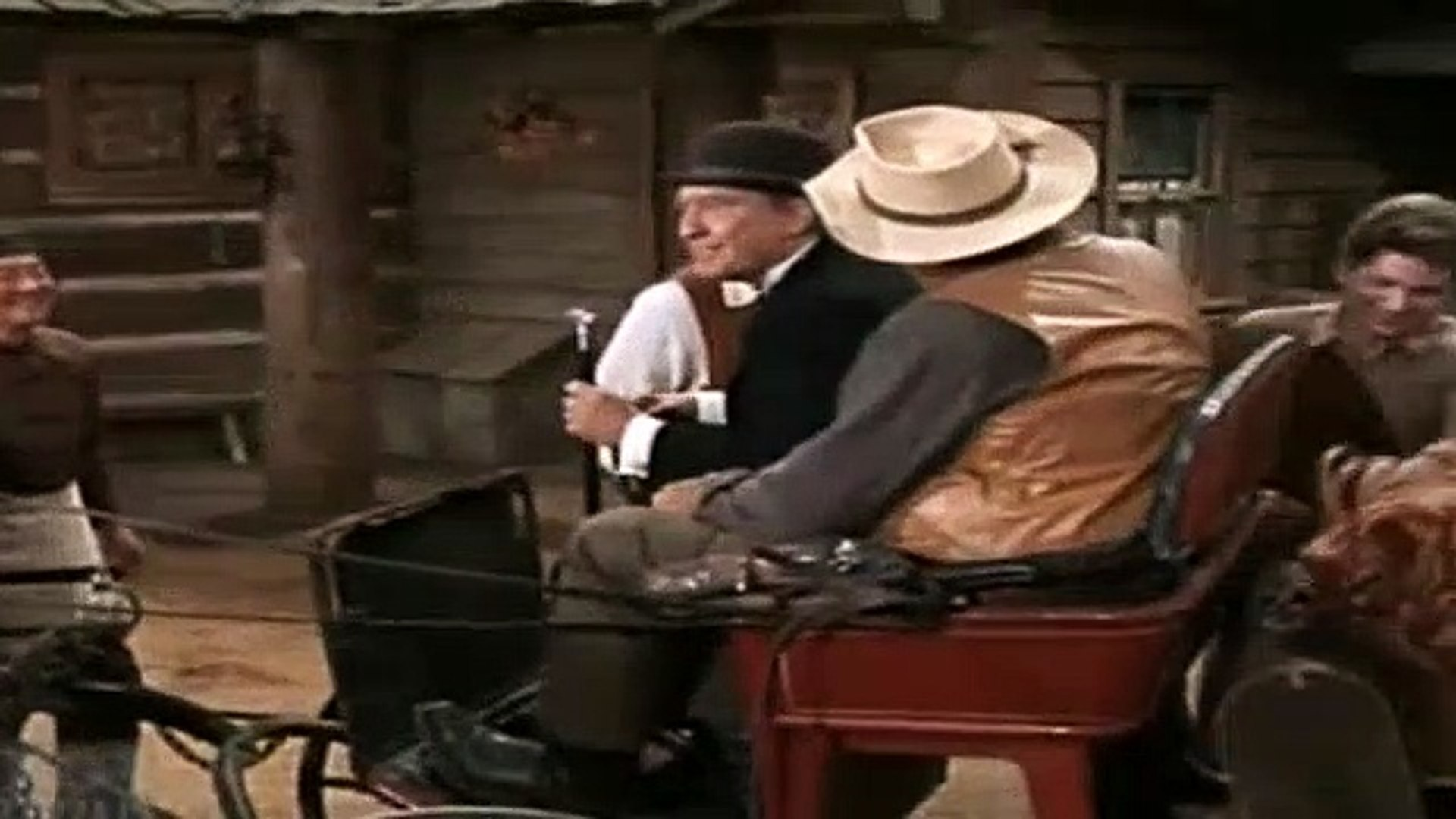 Bonanza S09e11 Six Black Horses Video Dailymotion
