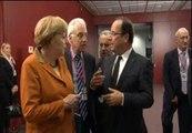 Hollande debate sobre el rescate