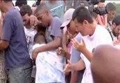 Dolor en el entierro de los seis jóvenes asesinados en Brasil