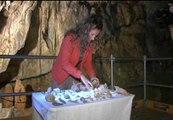 Hallados restos de hace 12.000 años en la cueva de Santimamiñe