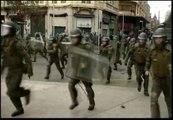 Nuevos enfrentamientos con la policía en las manifestaciones estudiantiles de Chile