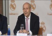 Wert se reúne con Florentino Pérez en el acto 'II Jornadas de Deporte y Desarrollo'