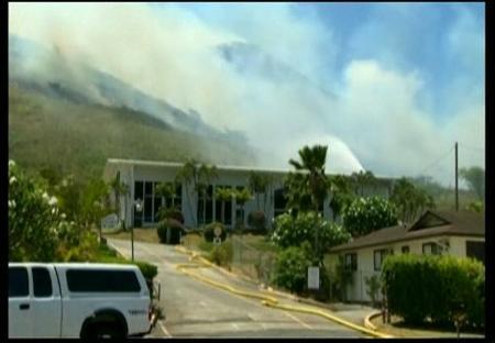 Las llamas devastan Hawai
