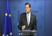 """Rajoy: """"El objetivo de déficit público para el año que viene será del 5,8%""""."""