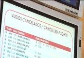 Iberia cancelará hoy alrededor de un centenar de vuelos