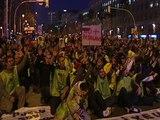 Los Mossos se manifiestan en Barcelona
