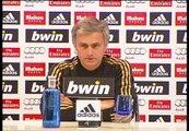 """Mourinho: """"Hemos perdido 5 puntos en dos días"""""""